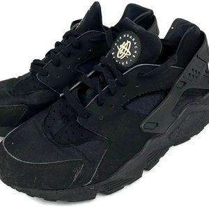 Nike Huarache Running Sneakers Black Mens Size 12